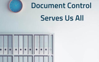 Document Control - Why it is important